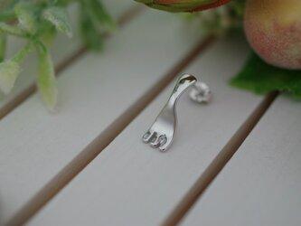 fork pierced earrings 1の画像