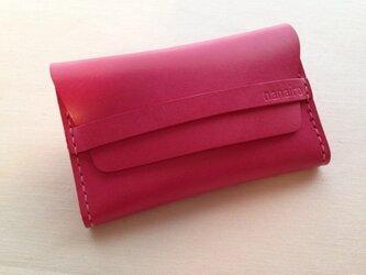 名刺入れ*カードケース*ピンクの画像