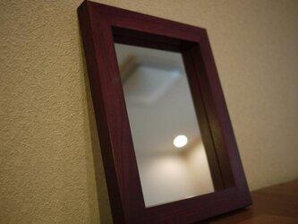PH wood frame mirror の画像