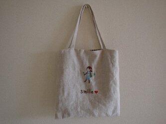 おさんぽバッグ サーフガール&四葉の画像