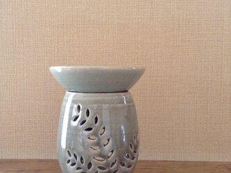 茶香炉ー青磁釉草木紋の画像