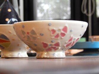 赤ちゃんにあげたいお茶碗(りぼん)の画像