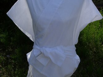晒し木綿半襦袢ベースの画像