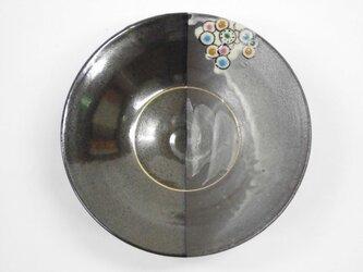 片身替 銀環長石釉天目鉢の画像