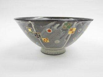 銀環長石釉大鉢の画像