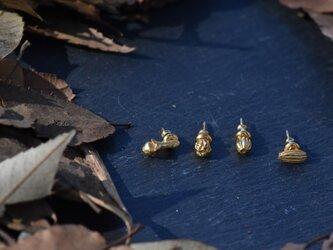 スパイスゴールドカラーピアス(フェンネル)(1pcs)の画像