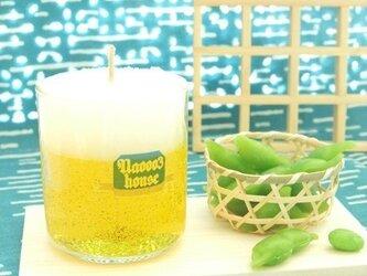 ビールキャンドル&枝豆型フレグランスの画像