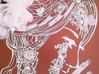 アゲ嬢アート~切り絵の世界の画像