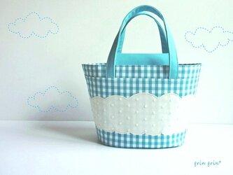 Bleu ciel 青空バッグの画像