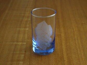 溶けない氷?グラス(ブルー)の画像