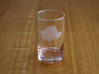 溶けない氷?グラス(ピンク)の画像