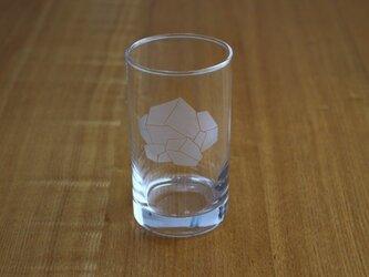 溶けない氷?グラスの画像
