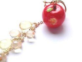 amai蜜りんごイヤーカフの画像