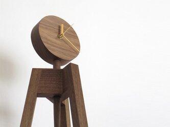 時計/写真立て|3本足の床置きスタンド型の画像