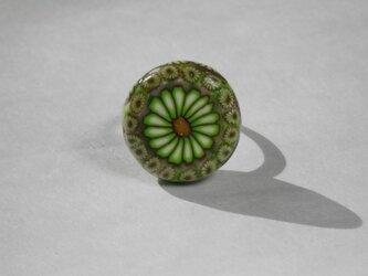 グリーンフラワーのリング(T)の画像