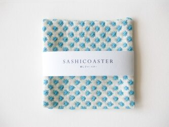 SASHICOASTER(刺し子 コースター)15の画像