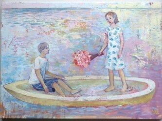 春の舟(原画)[original picture]の画像