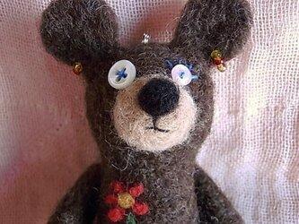 羊毛くまストラップ・エプロンさんの画像