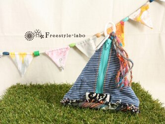 TIPI POUCH(ヒッコリー)の画像