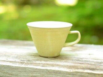 サンカクコーヒーカップの画像