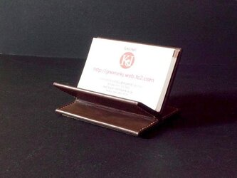 SHOP CARD STANDの画像