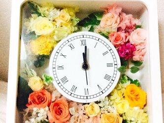 華花時計 (色オーダー)の画像