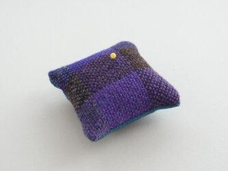 ウール手織り ピンクッションの画像