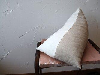 tetra 枕 (リネン100%)の画像