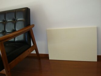 あづち織のファブリックボードの画像