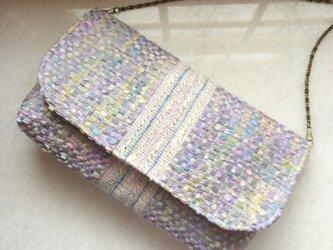 ☆手織り布のゆめ色バッグ☆の画像