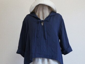 yoshiki様のセーラーカラープルオーバー(紺)の画像