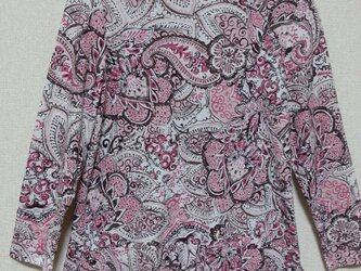 七分袖のピンク 冷房・日焼け対策にどうぞ☆の画像