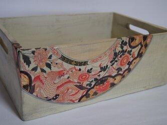古伊万里風 木箱の画像