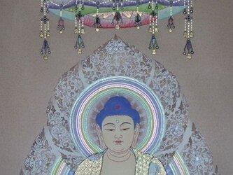 釈迦如来文殊弥勒像(A-9)の画像