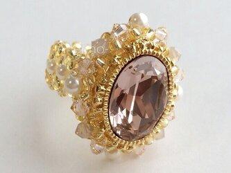 プリンセスリング ヴィンテージローズ(ピンク系)の画像