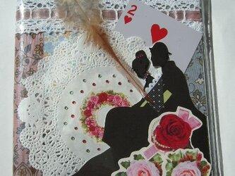 コラージュノートカバー 『夕刻の恋人』の画像