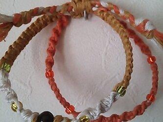 ヘンプのブレス(オレンジ)の画像