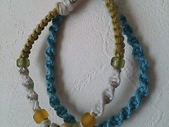 ヘンプのブレス(ブルー)の画像