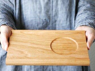 【木製トレー】カフェトレ— senro(S)◎プレート◎北欧◎シンプル◎ナチュラル◎アウトドアの画像