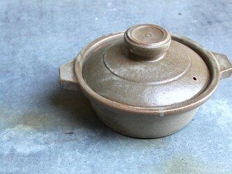 No.rs-01 緑石釉七寸鍋の画像