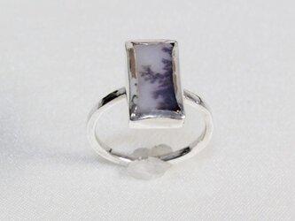 デンドリティッククォーツのリングの画像