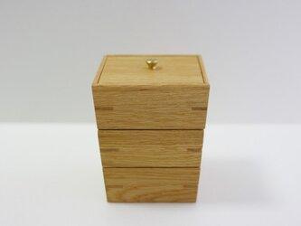 3段小箱の画像