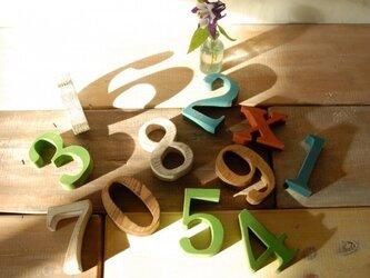 木製 英数字オブジェ (一文字)の画像