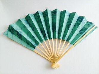京扇子 飾り用ー風花の画像