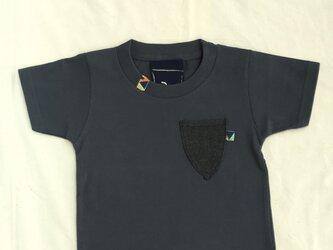 デニムポケットTシャツの画像
