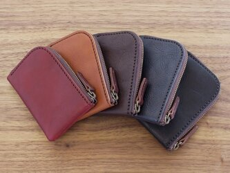 日本製タンニンなめし革のミニ財布 / 5色の画像