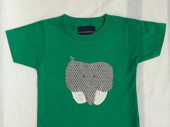 ゾウさんTシャツ 100cmの画像