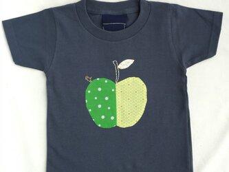 リンゴTシャツ 100cmの画像