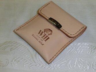 ヌメ革のコインケースの画像