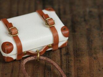 トランクのネックレス (ホワイト)の画像